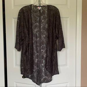 Lularoe Lace Kimono NWT - M